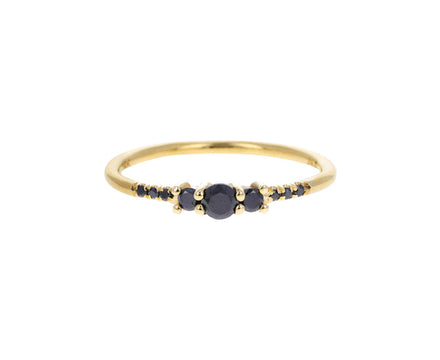 Black Diamond Equilibrium Trio Ring