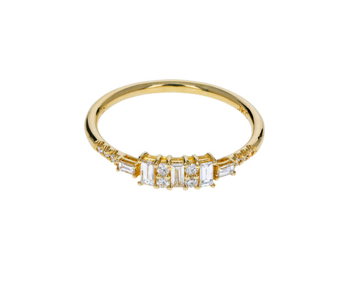 Baguette Diamond Reflection Ring - TWISTonline
