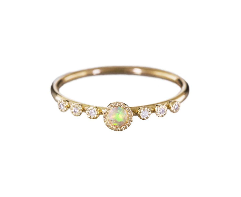 Round Opal Dew Ring - TWISTonline