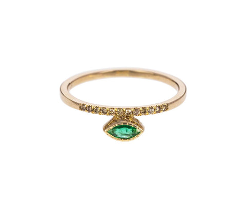 Emerald Balance Ring - TWISTonline