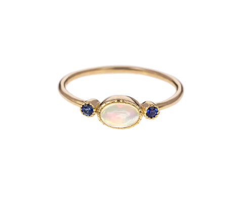 Opal Reese Ring  zoom 1_jennie_kwon_gold_sapphire_opal_reese_ring
