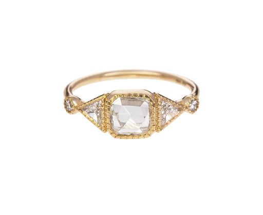 Square Diamond Duo Deco Ring - TWISTonline