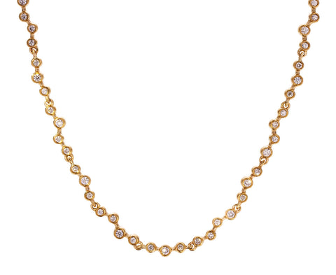 Diamond Waving Riviera Necklace - TWISTonline