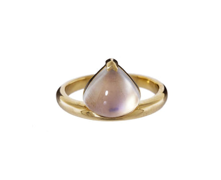 Large Moonstone Cantilever Ring - TWISTonline