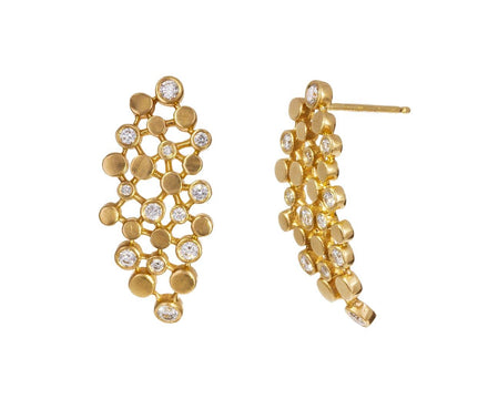 Dot and Diamond Earrings - TWISTonline