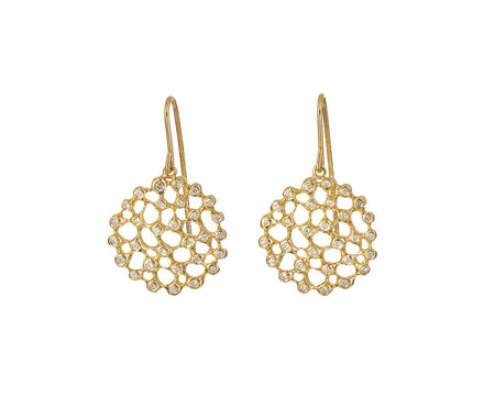 Diamond Circle Earrings - TWISTonline