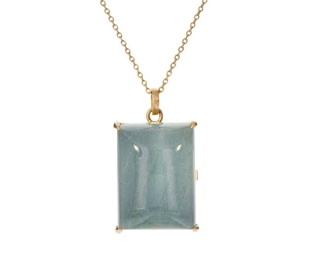 Aquamarine Locket Pendant Necklace zoom 1_nicole_landaw_gold_aquamarine_locket_necklace
