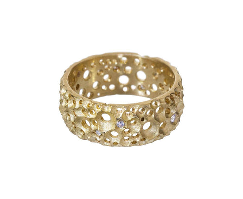 French Lace Band with Diamonds - TWISTonline