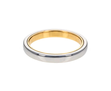 Men's Platinum and Gold Band - TWISTonline