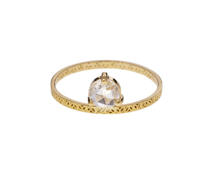 Diamond Petite Straight Lace Solitaire - TWISTonline