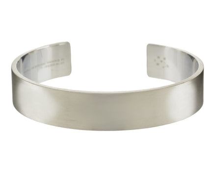 45 Grams Brushed Sterling Silver Men's Cuff Bracelet - TWISTonline