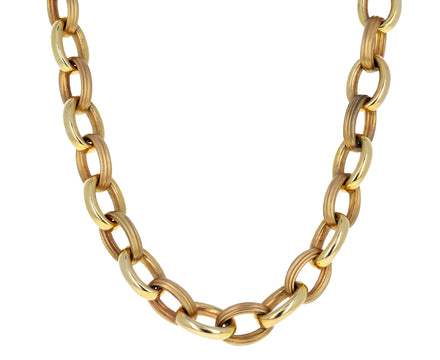 Rosa Choker Chain Necklace