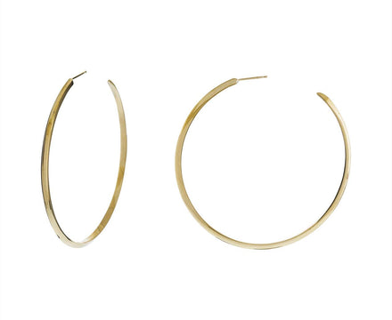 Basic Knife Edge Hoops - TWISTonline
