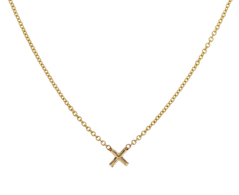 Tiny X Necklace - TWISTonline