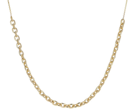 Extra Small Knife Edge Link Chain Necklace