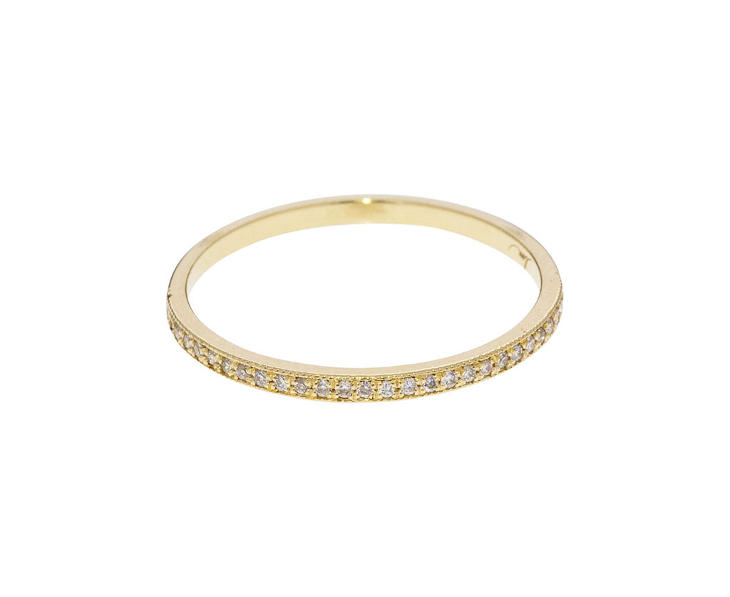 Diamond Pavé Stacking Band