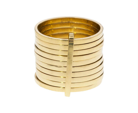 Basic Gold 10 Day Ring - TWISTonline