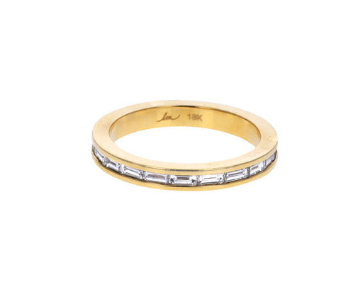 White Diamond Baguette Eternity Ring