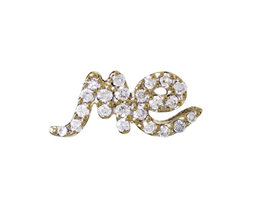 SINGLE Diamond 'me' Stud Earring - TWISTonline