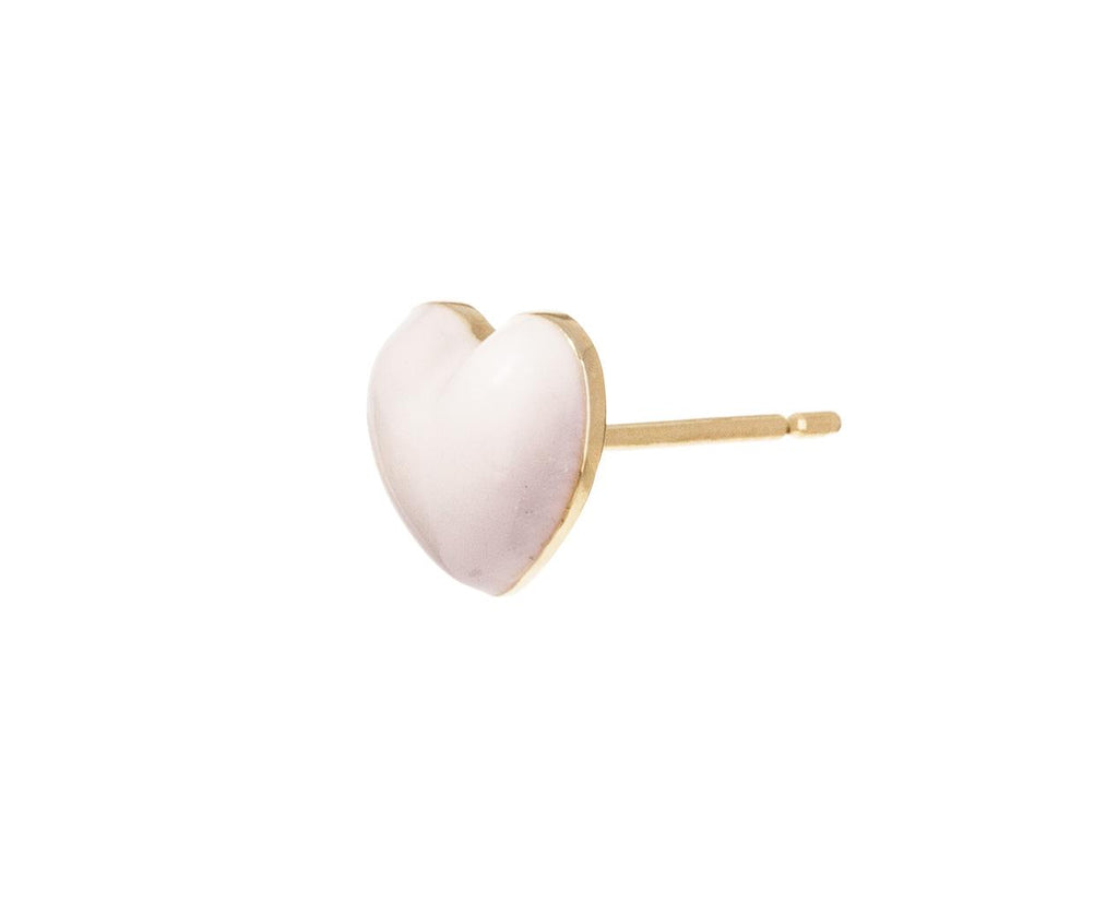 Rose Clair Heart SINGLE Earring - TWISTonline