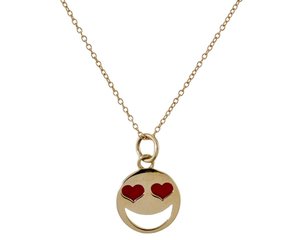 Love Struck Face Pendant Necklace - TWISTonline