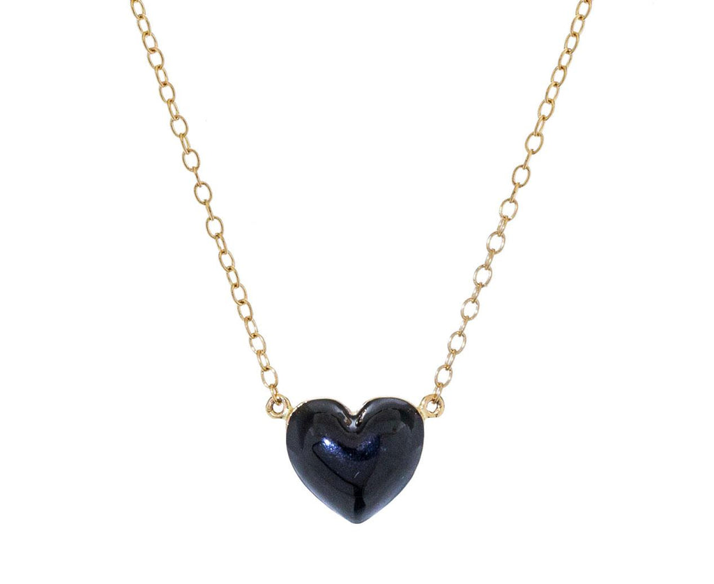 Noir Heart Pendant Necklace - TWISTonline