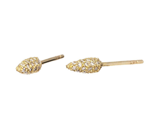 Diamond Spike Post Earrings - TWISTonline