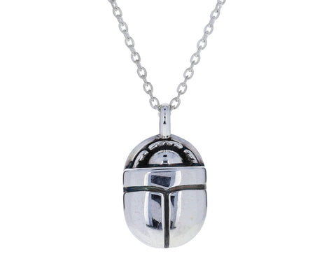 Large Scarab Pendant Necklace