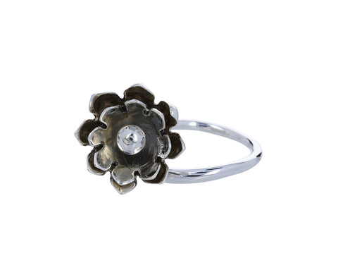 Silver Anemone Ring