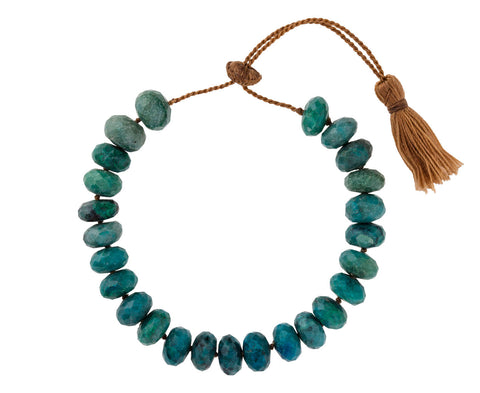 Chrysocolla Beaded Bracelet - TWISTonline