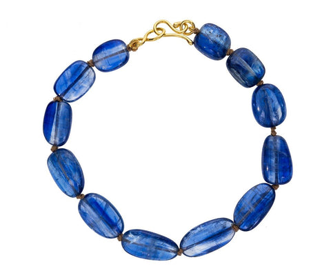 Kyanite Bead Bracelet - TWISTonline