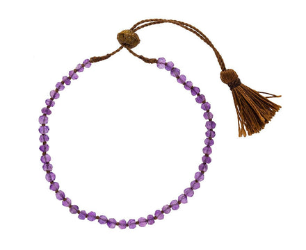 Amethyst Beaded Bracelet - TWISTonline