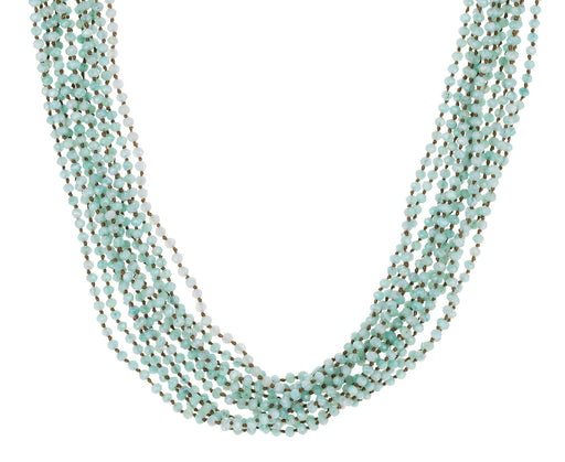 Multi-Strand Amazonite Necklace - TWISTonline