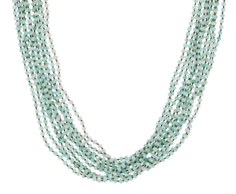 Multi-Strand Amazonite Necklace