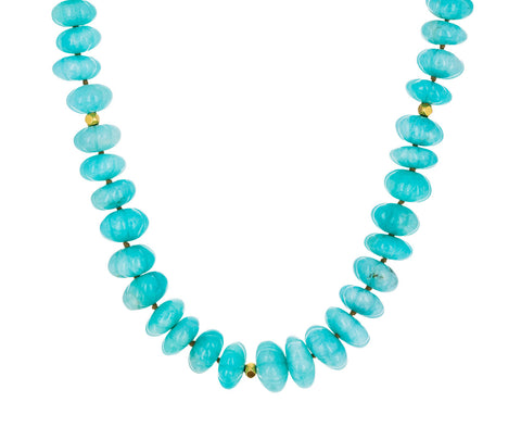Amazonite Bead Necklace - TWISTonline