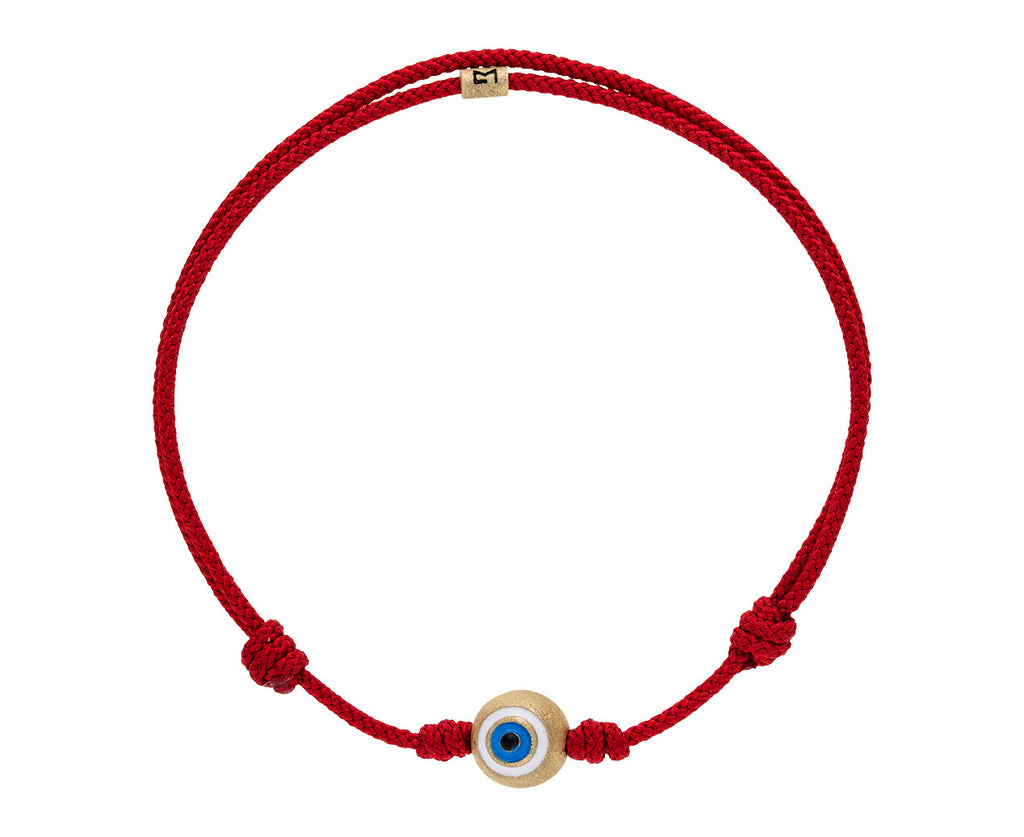 Red Cord Evil Eye Charm Bracelet - TWISTonline