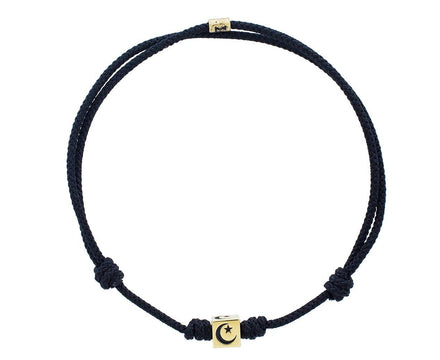 Black Moon and Star Bracelet - TWISTonline