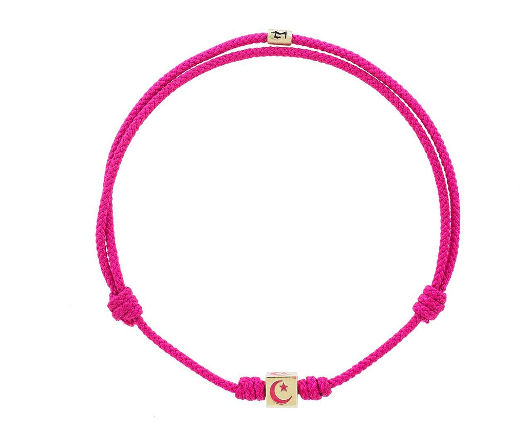 Pink Moon and Star Bracelet - TWISTonline