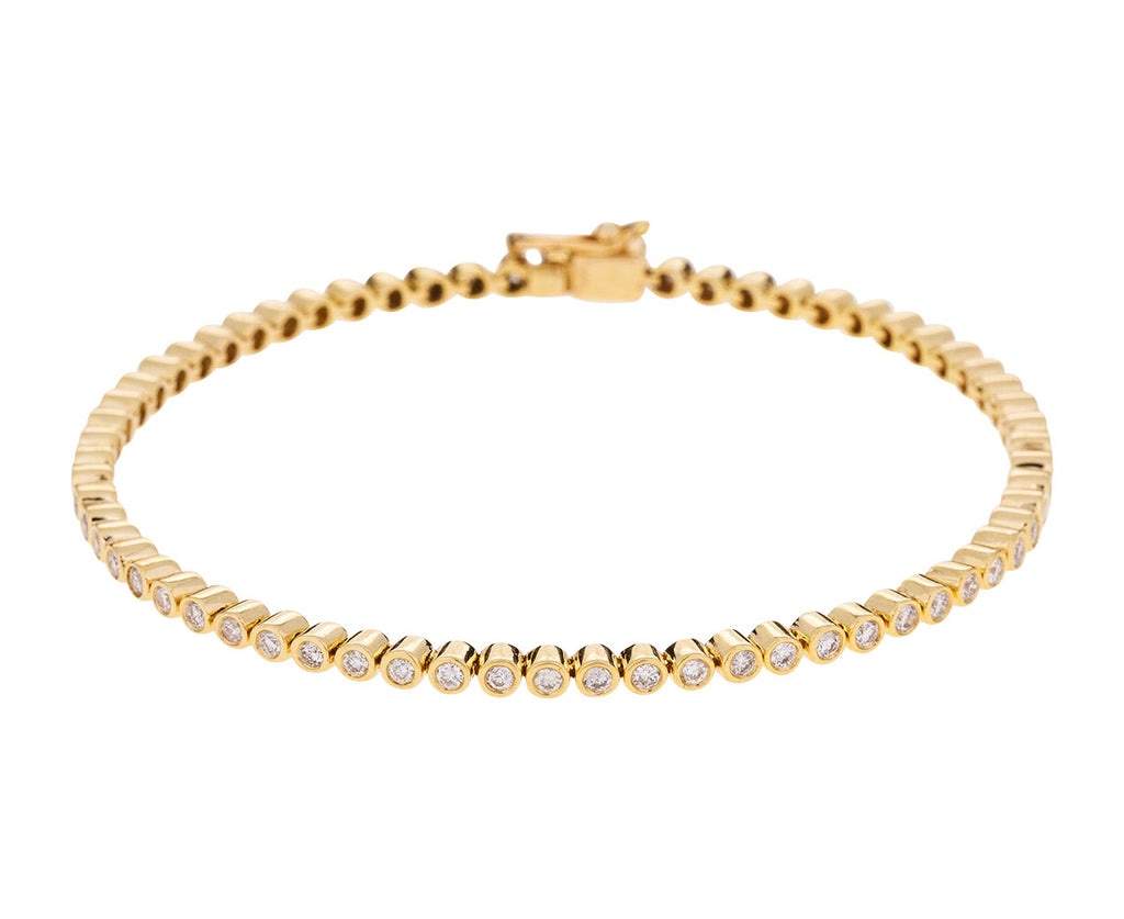 White Diamond Tennis Bracelet - TWISTonline