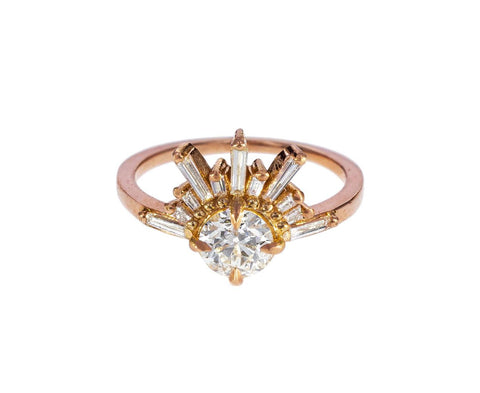 Demi Feu Diamond Solitaire - TWISTonline