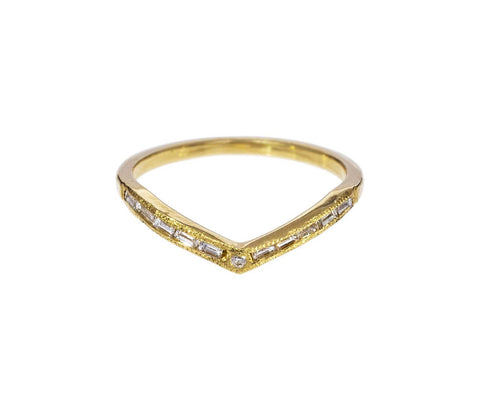 Hazeline Diamond Baguette Band - TWISTonline