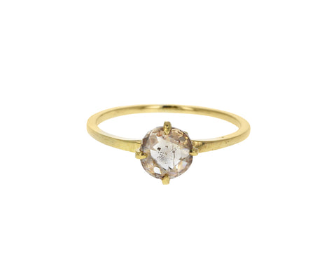 Light Rose Cut Diamond Penelope Solitaire