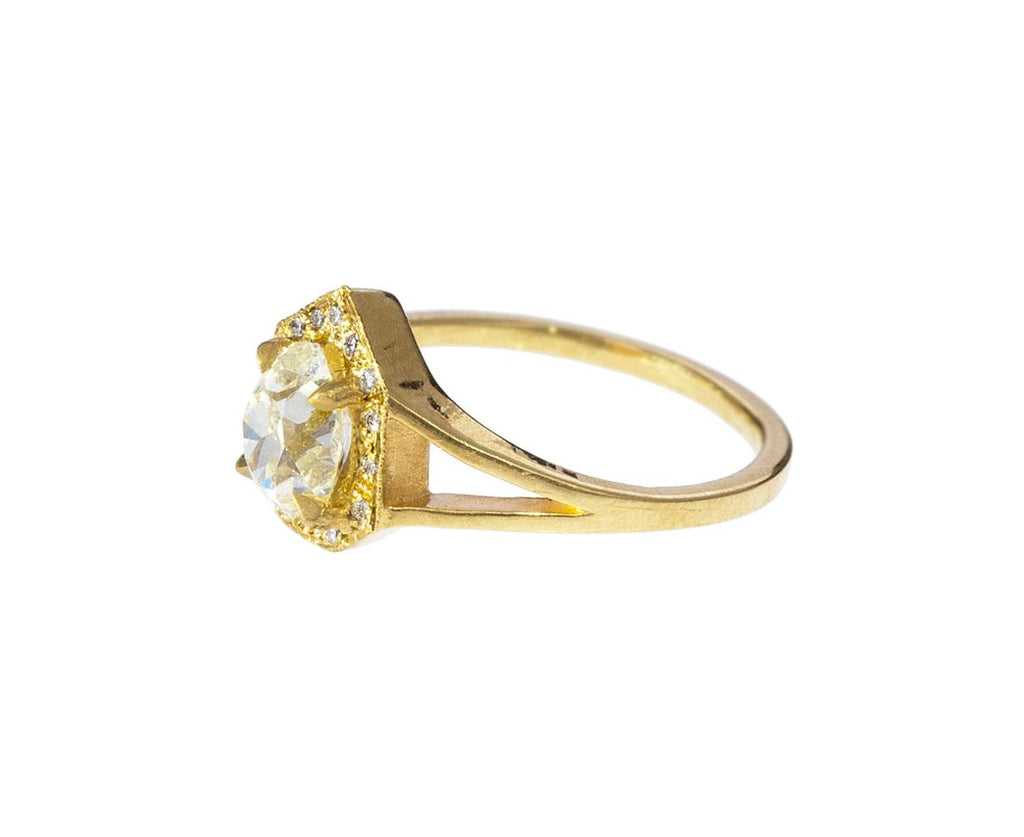 Antique Diamond Phoebe Solitaire - TWISTonline