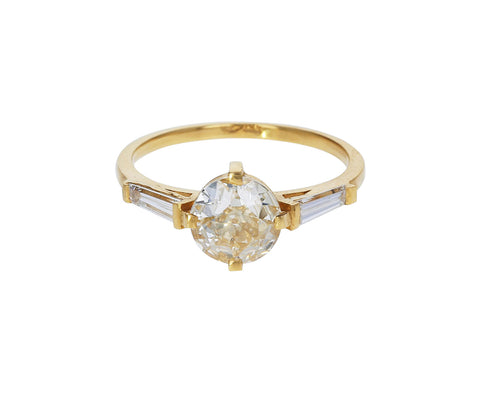 Old European Cut Diamond Calliope Ring - TWISTonline