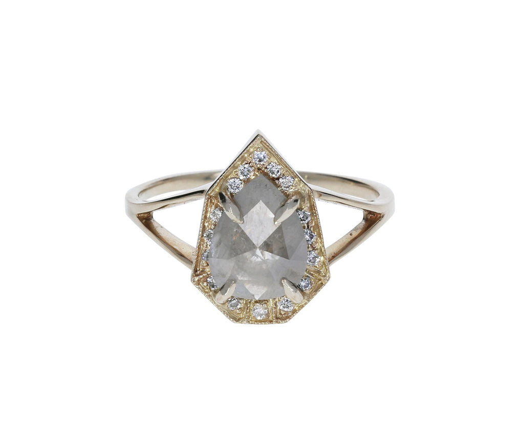 Gray Diamond Phoebe Ring - TWISTonline