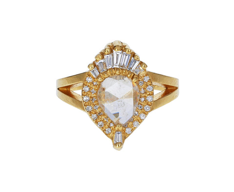 Antique Diamond Sacred Heart Ring - TWISTonline