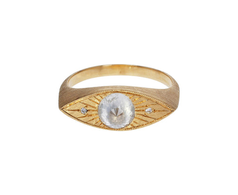 Gray Diamond Third Eye Ring - TWISTonline