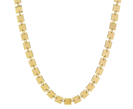 The Line Yellow Necklace - TWISTonline