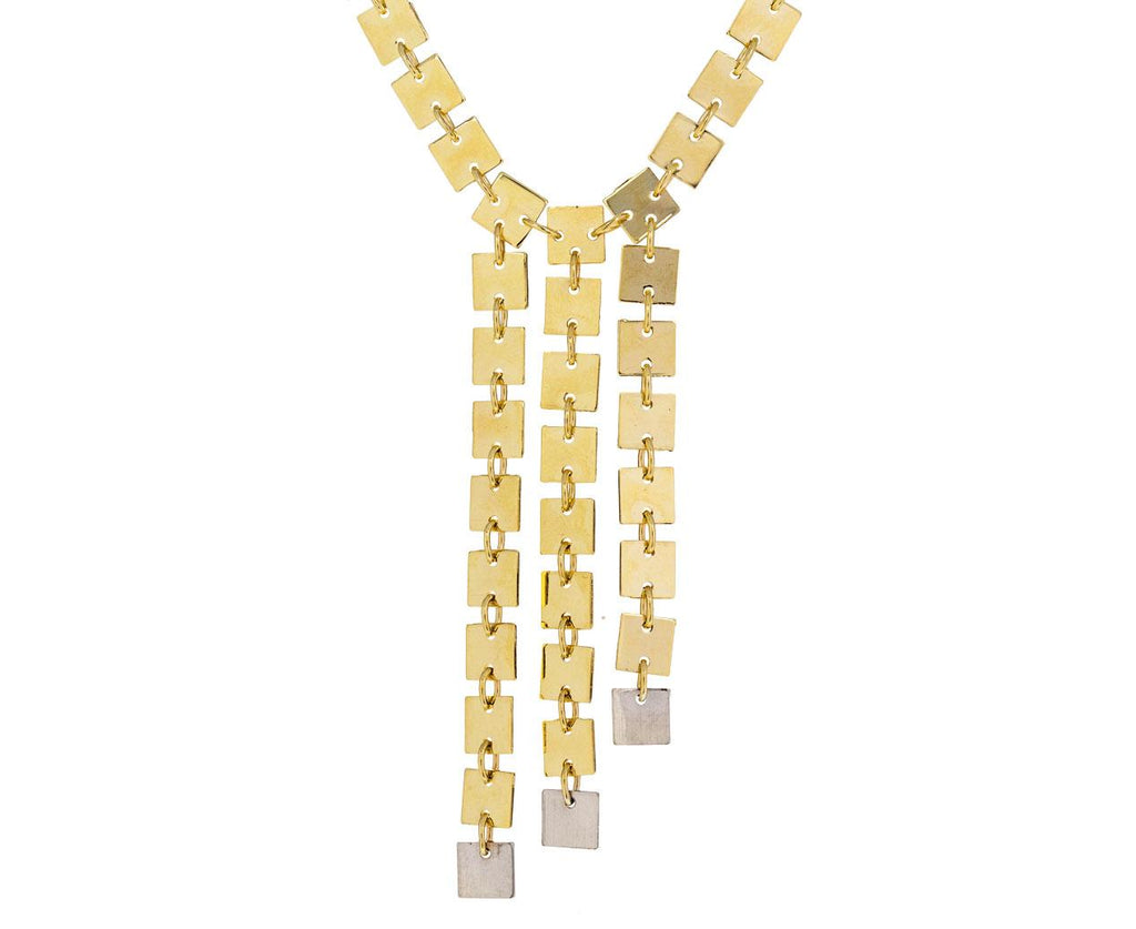 Three Rows on the Line Necklace - TWISTonline