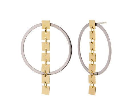 Round Ones Sevens Earrings - TWISTonline